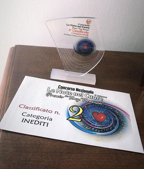 le >Note del Cuore 3° edizione, Fabiana Mattuzzi Classificata al secondo posto