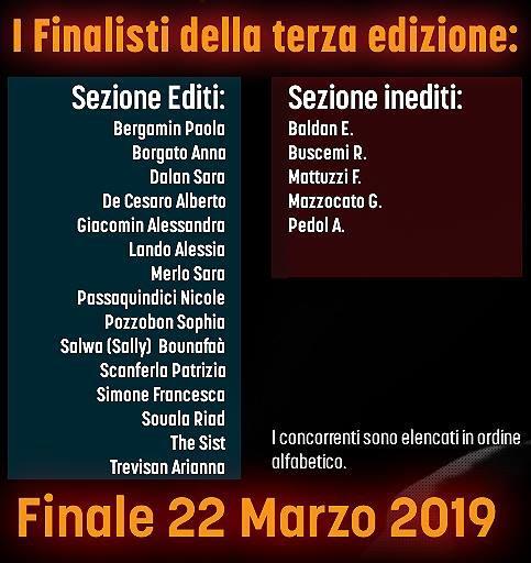 Le note del cuore finalisti 2019